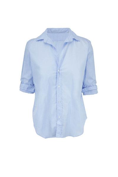 Frank & Eileen - Frank Soft Blue Cotton Button Down Shirt