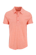 Orlebar Brown - Sebastian Hot Coral Tailored Fit Polo