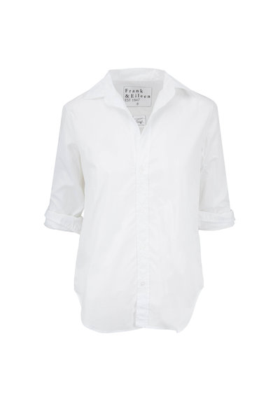 Frank & Eileen - Frank White Cotton Button Down Shirt
