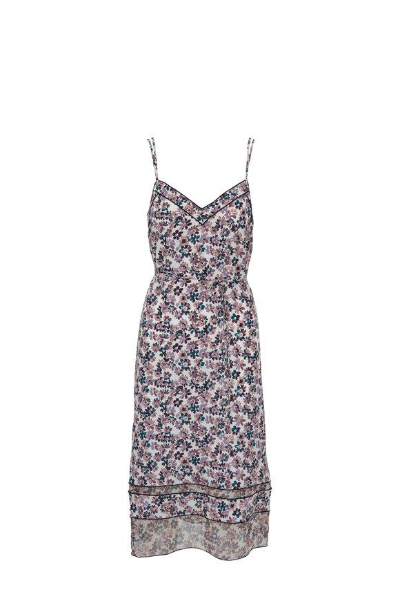 Rag & Bone Ilona Ivory Floral Printed Dress