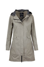 Herno - Taupe Two Ply Gortex Raincoat