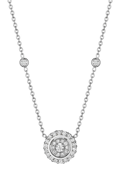 Penny Preville - Round Diamond Pendant Necklace