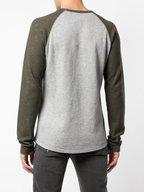 Vince - Lieutenant Green & Gray Baseball T-Shirt