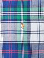 Polo Ralph Lauren - Green Multicolor Plaid Cotton Sport Shirt