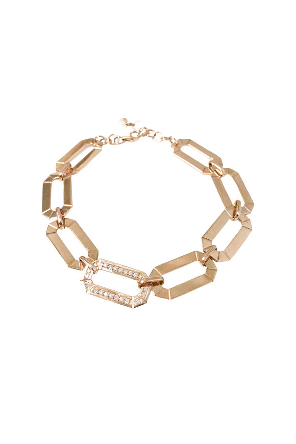 Julez Bryant 14K Yellow Gold Link Bracelet