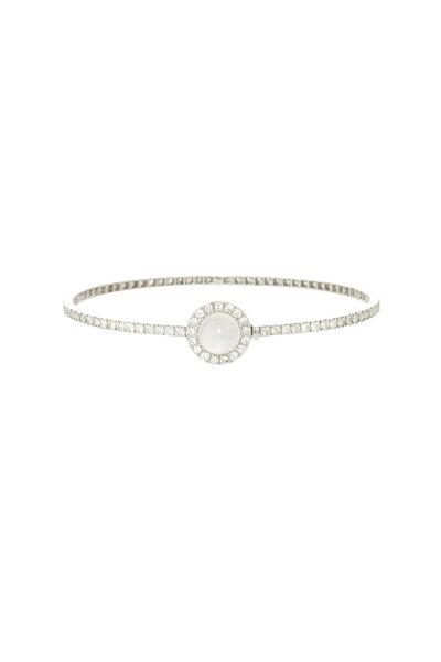 Nam Cho - 18K White Gold Moonstone Bracelet