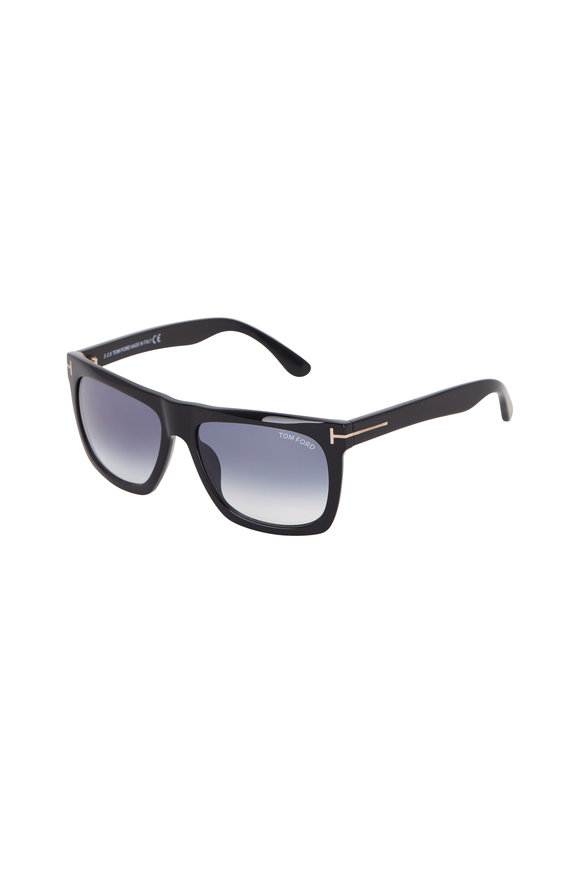 Tom Ford Eyewear Morgan Shiny Black Sunglasses