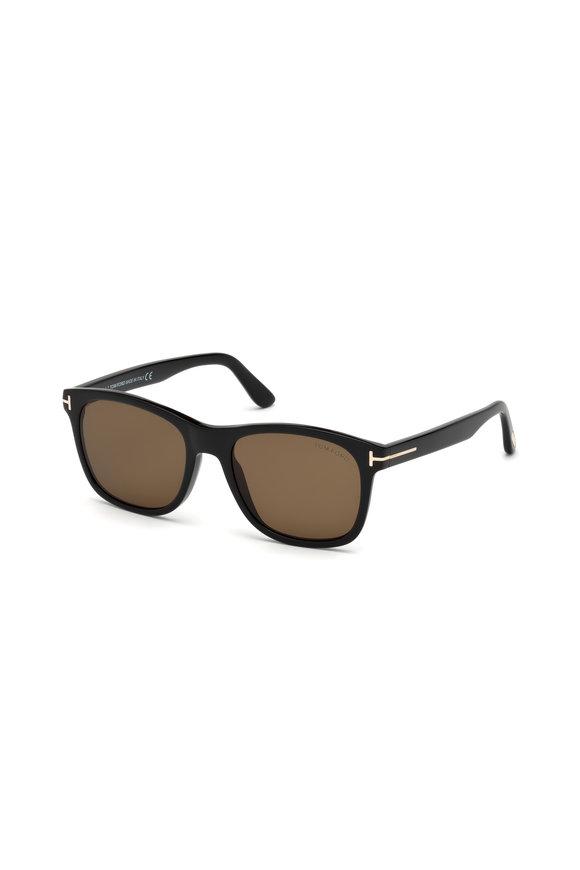 Tom Ford Eyewear Eric Shiny Black Polarized Sunglasses