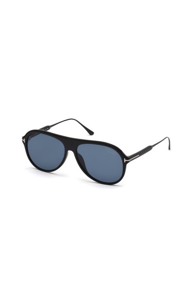 Tom Ford Eyewear - Nicholai Matte Black Polarized Sunglasses