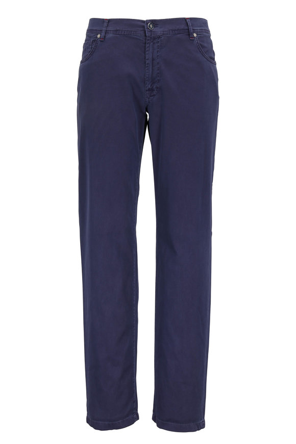 Marco Pescarolo Nerano M Blue Five Pocket Pant