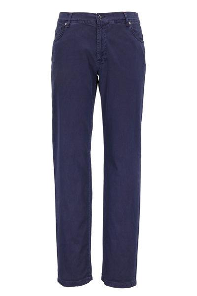 Marco Pescarolo - Nerano M Blue Five Pocket Pant
