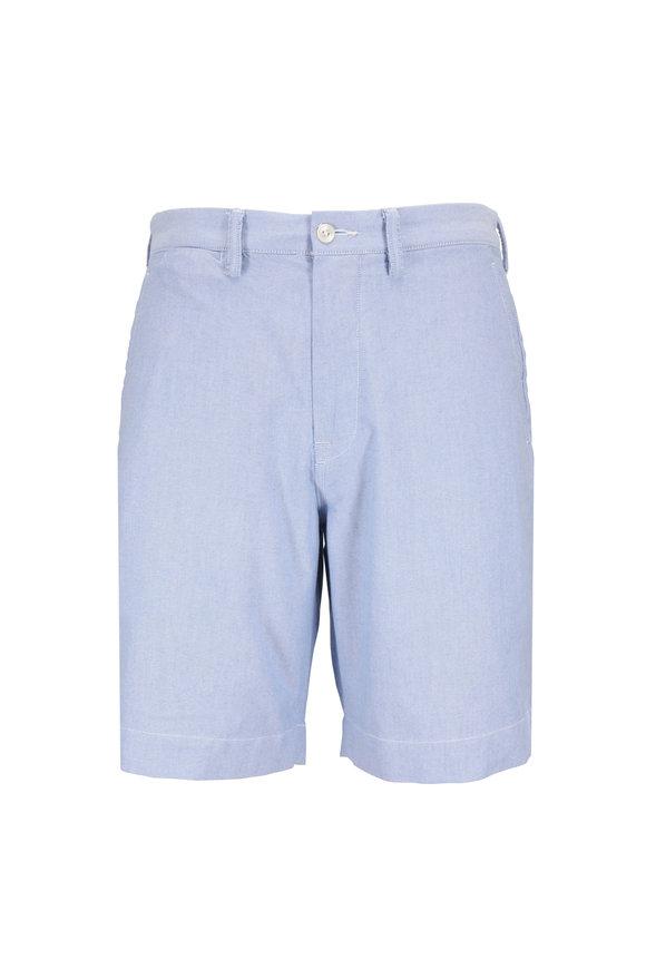 Polo Ralph Lauren Light Blue Cotton Classic Fit Shorts