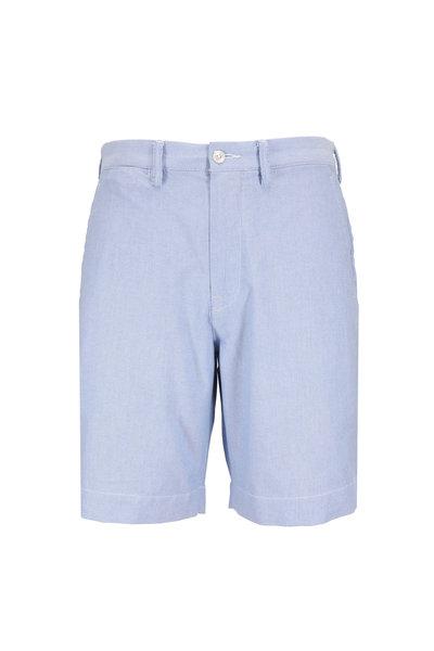 Polo Ralph Lauren - Light Blue Cotton Classic Fit Shorts