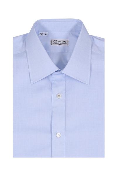 Charvet - Light Blue Cotton Dress Shirt
