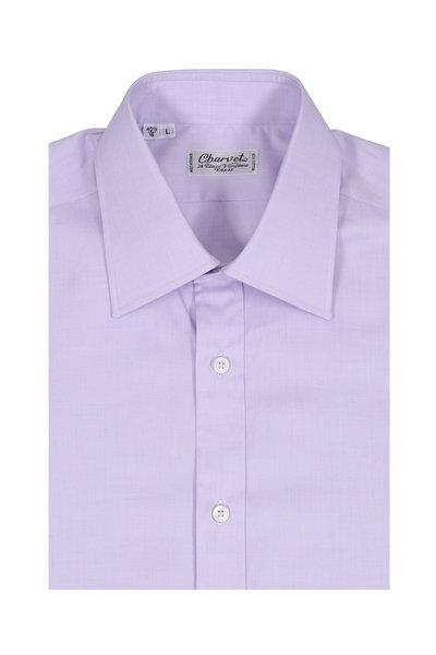 Charvet - Lavender Cotton Dress Shirt