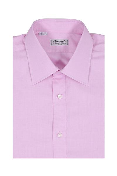 Charvet - Pink Cotton Dress Shirt