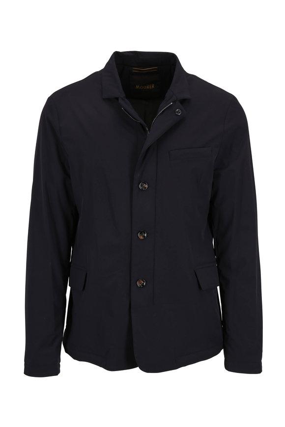 Moorer Tebaldo-KN Dark Blue Classic Fit Jacket