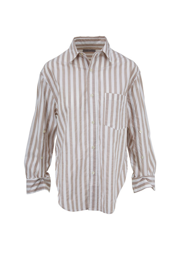 Citizens of Humanity Kayla Havana Striped Button Down Shirt