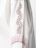 Dorothee Schumacher - White Printed Sleeve Shirt