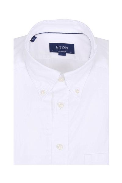 Eton - White Contemporary Fit Sport Shirt