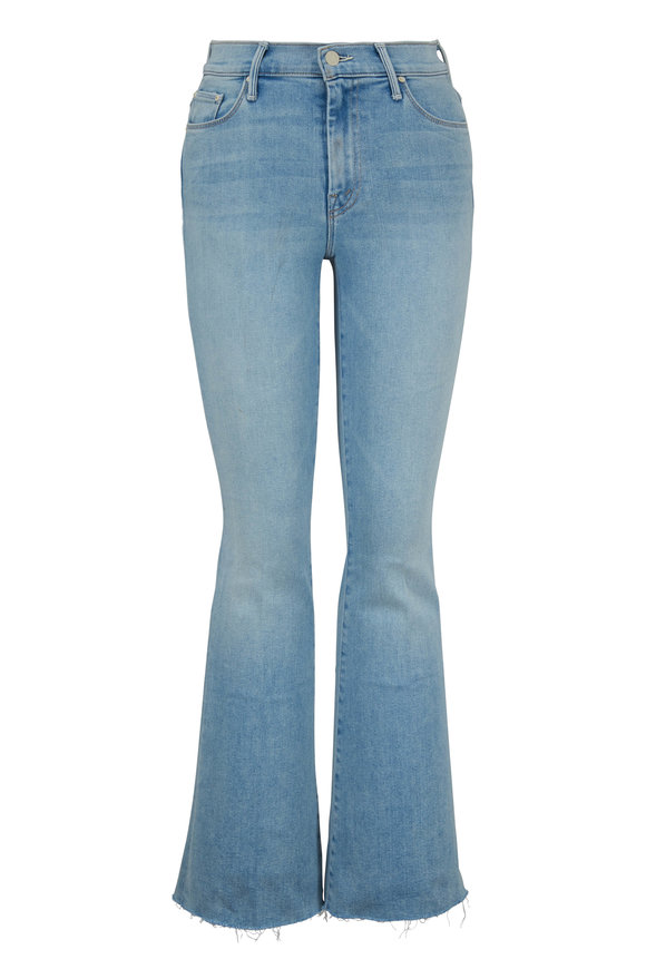 Mother Denim The Weekender Fray Swimming Pool Sunday Jean