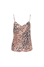 PAIGE - Cicely Faded Animal Print Cami