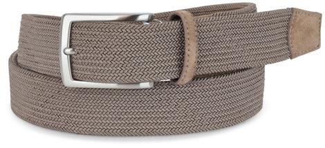 Torino Khaki Woven Elastic Belt