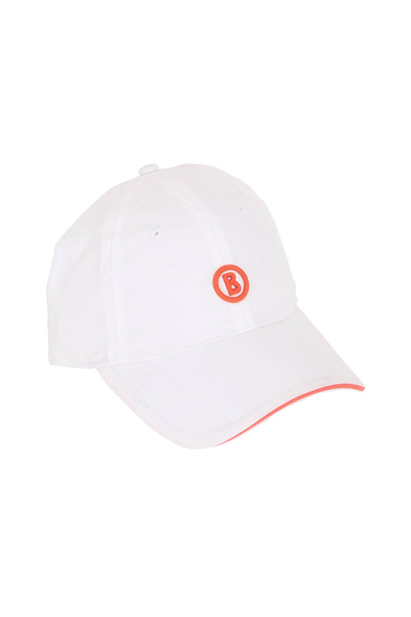 Bogner Ray White Baseball Hat