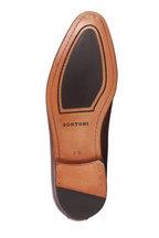 Bontoni - Brera Whiskey Burnished Leather Cap-Toe Derby