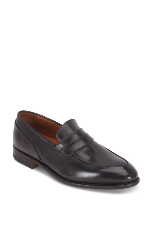 Bontoni Principe Rivolta Dark Gray Loafer
