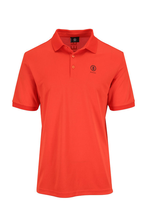 Bogner Daniel Orange Luxe Polo