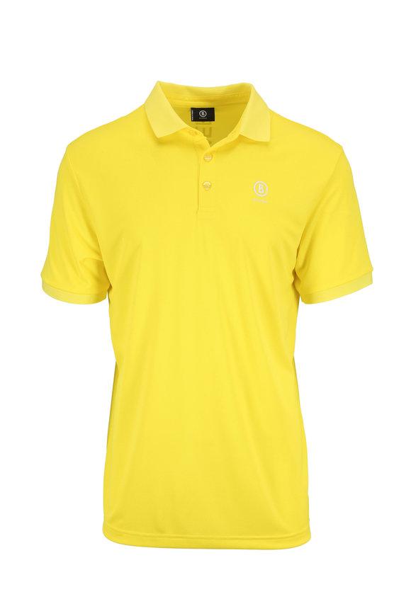 Bogner Daniel Sun Yellow Luxe Polo