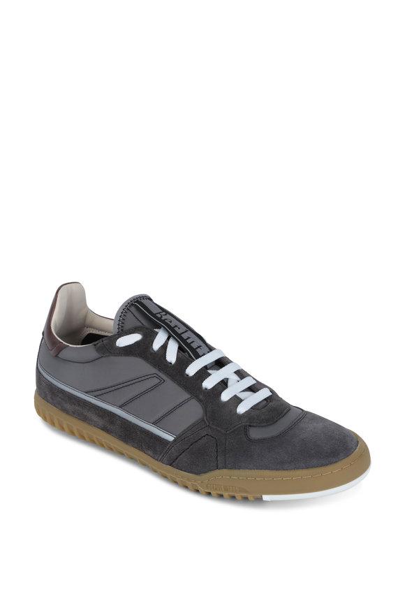 Berluti Gray Suede & Nylon Sneaker