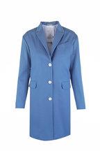 Kiton - Light Blue Cashmere Coat