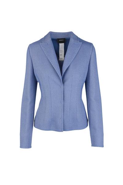 Akris - Lavender Wool Blend Blazer