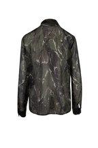 Saint Laurent - Camouflage Green & Brown Bow-Neck Blouse