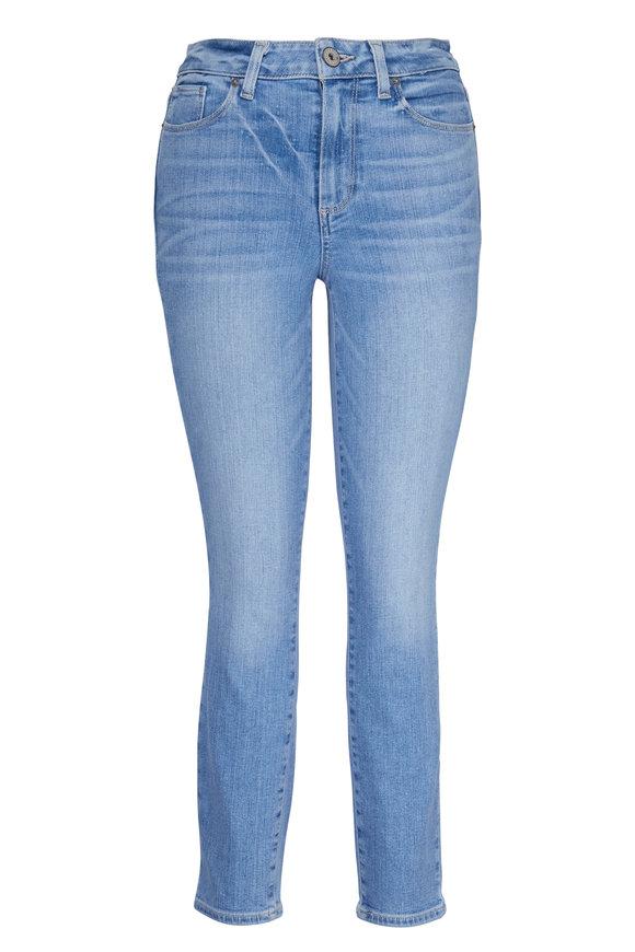 Paige Denim Hoxton Floretta Cropped Jean