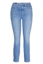 PAIGE - Hoxton Floretta Cropped Jean