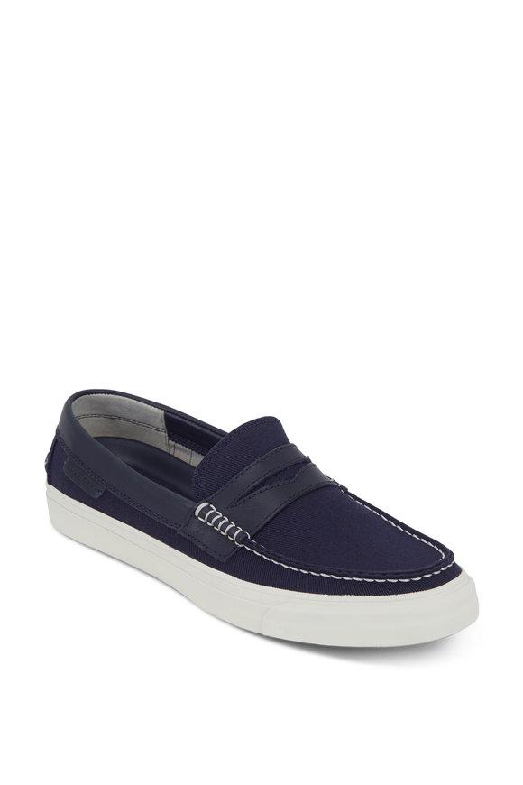 Cole Haan Pinch LTE Weekender Navy Blue Canvas Loafer