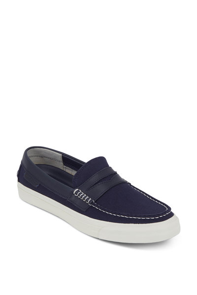 Cole Haan - Pinch LTE Weekender Navy Blue Canvas Loafer