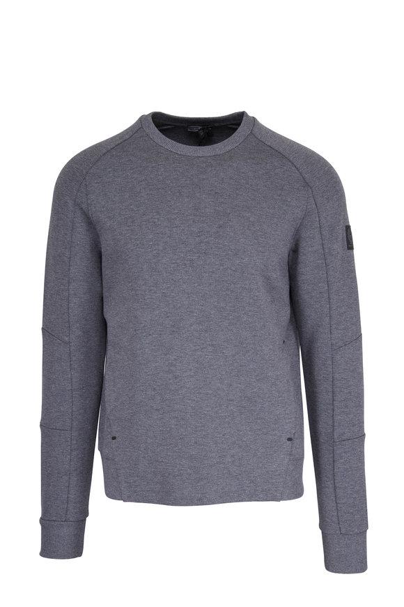 Belstaff Holcot Gray Crew Neck Sweatshirt