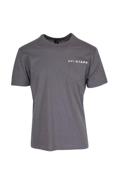 Belstaff - Phoenix Gray Spray Paint Logo T-Shirt