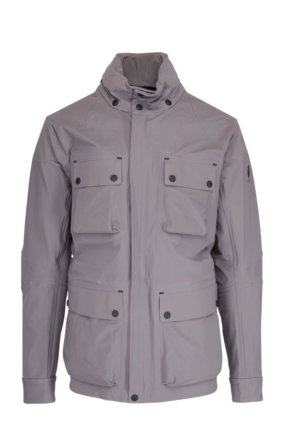 Belstaff Trailmaster Dusk Gray Waterproof Jacket