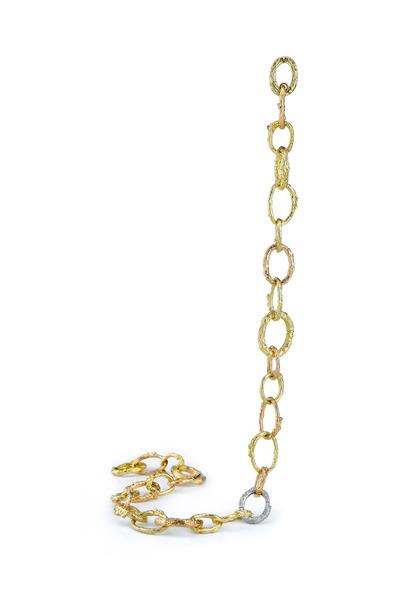 Aaron Henry - Varigated Arbor Branch Link Necklace