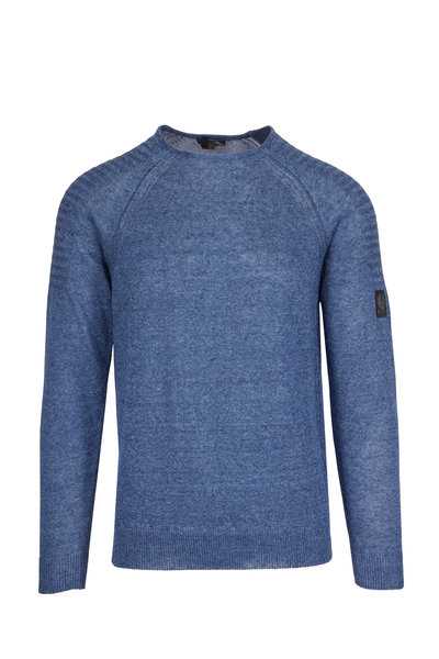 Belstaff - Chilton Blue Lagoon Linen Sweater