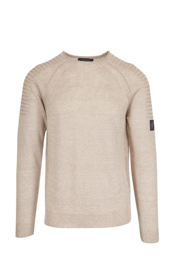 Belstaff Chilton Sand Linen Sweater