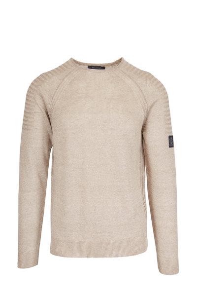 Belstaff - Chilton Sand Linen Sweater