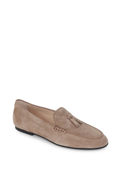 Tod's - Tobacco Suede Tassel Loafer