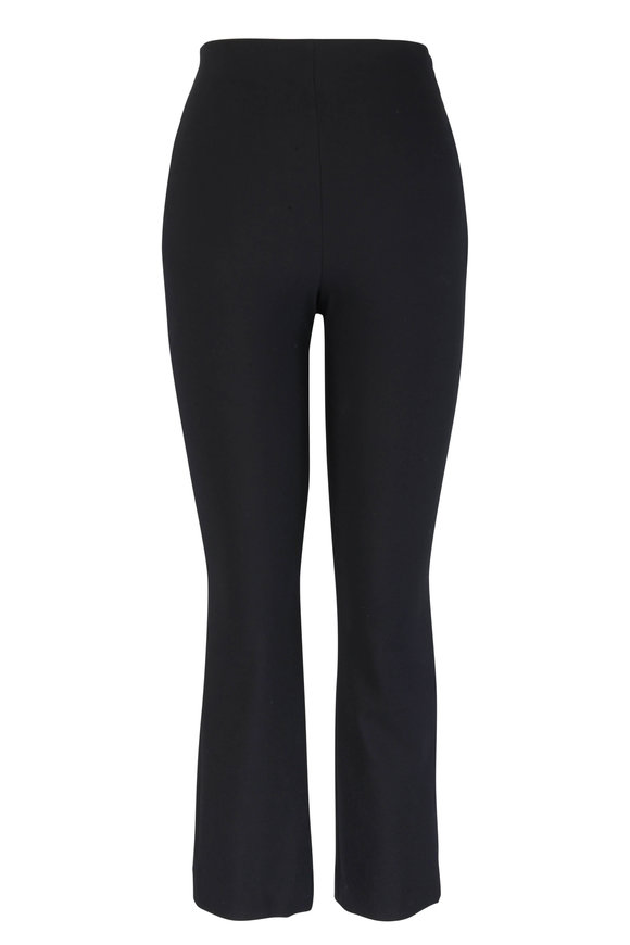 Vince Black Stretch Flare Crop Pant