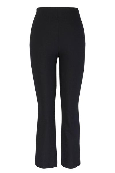 Vince - Black Stretch Flare Crop Pant